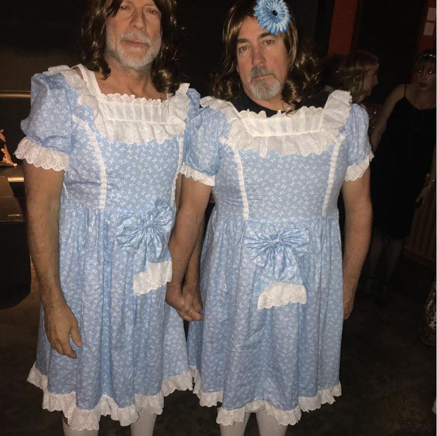 Costumi Halloween Di Gruppo.Halloween I Costumi Vip Visti Finora Foto Radio Deejay