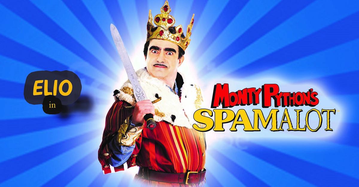 """Spamalot, il musical tratto da """"Monty Python e il Sacro Graal"""", in teatro con Elio e Rocco Tanica"""