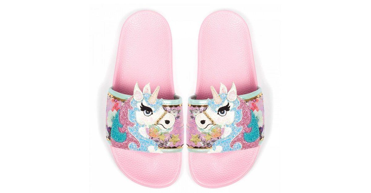 adatto a uomini/donne aspetto dettagliato migliori scarpe da ginnastica Queste ciabatte-unicorno porteranno la vostra magia ad un ...