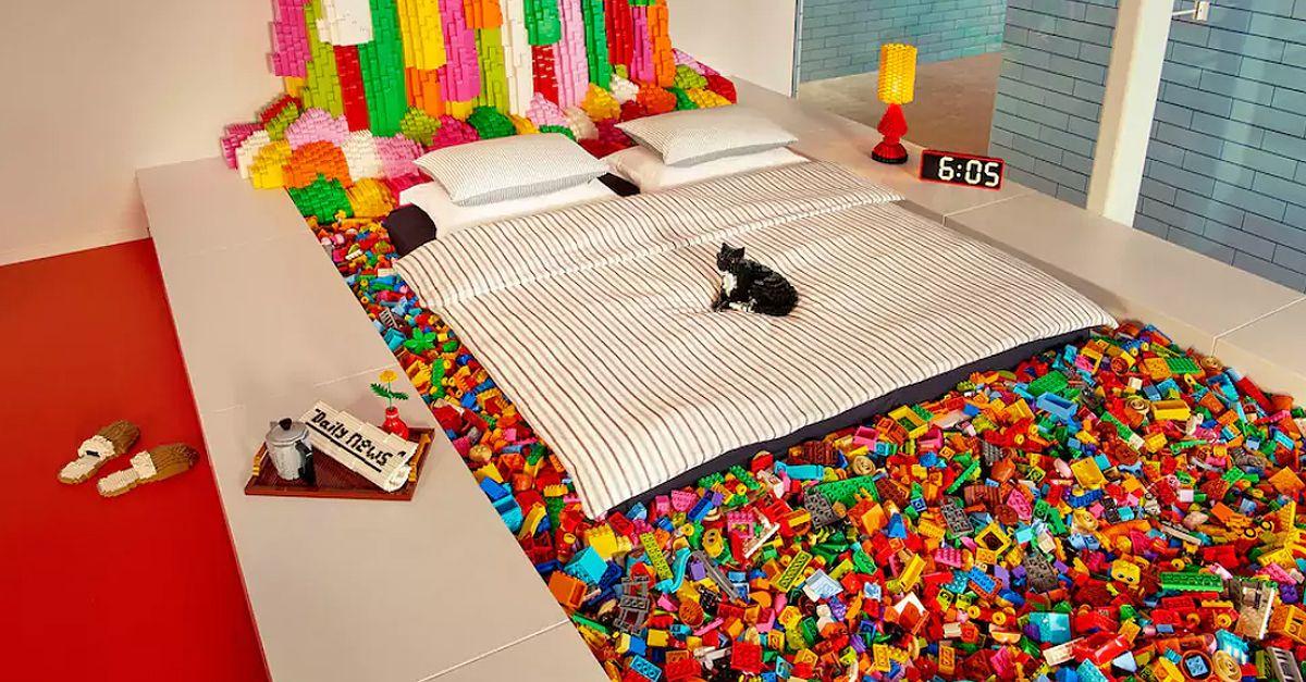 Con Airbnb una notte nella Lego House in Danimarca