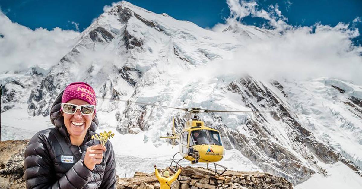 """Tamara Lunger, l'alpinista italiana al Festival di Banff: """"Quando una donna capisce che può fare grandi cose, ha vinto"""""""