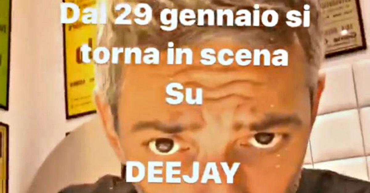 """Fiorello su Radio DEEJAY con un nuovo programma: """"Dal 29 gennaio si torna in scena"""""""