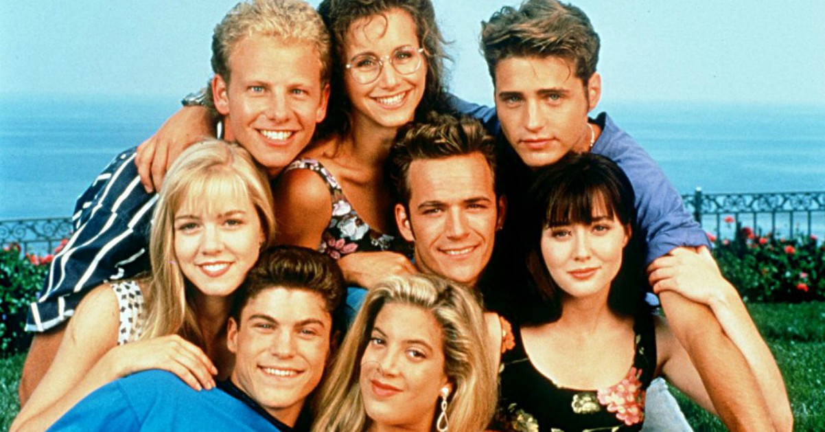 """Come immaginate la reunion di Beverly Hills 90210? Io così"", il post di Donna"