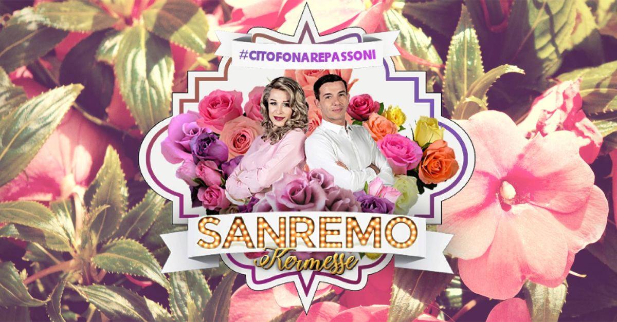 Citofonare Passoni, Sanremo si guarda e si commenta con Diego e Cristina Bugatty: ecco come