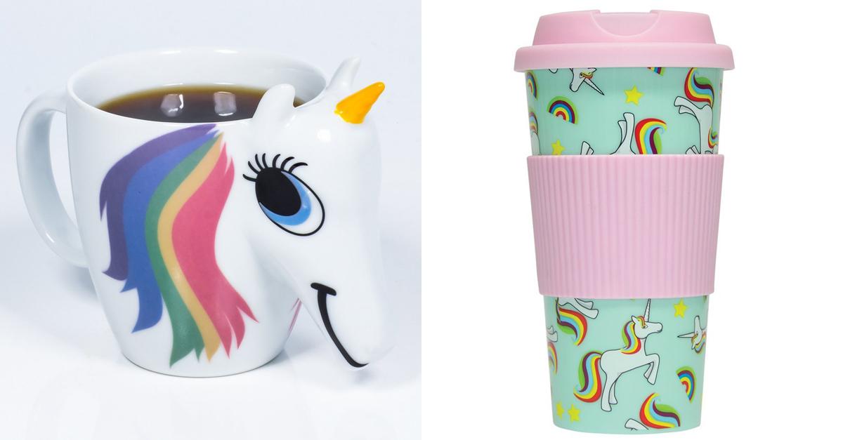 Con queste tazze unicorno le vostre colazioni diventeranno magiche