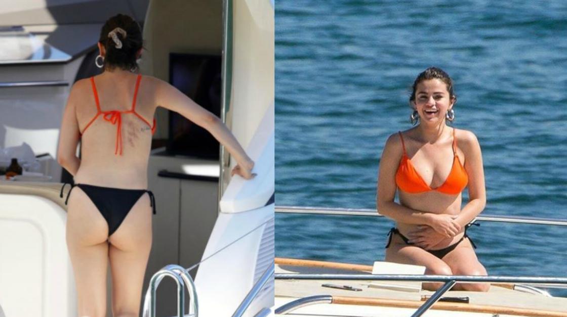"""Selena Gomez in costume mostra le cicatrici dell'operazione: """"Basta all'ossessione per il corpo perfetto"""""""