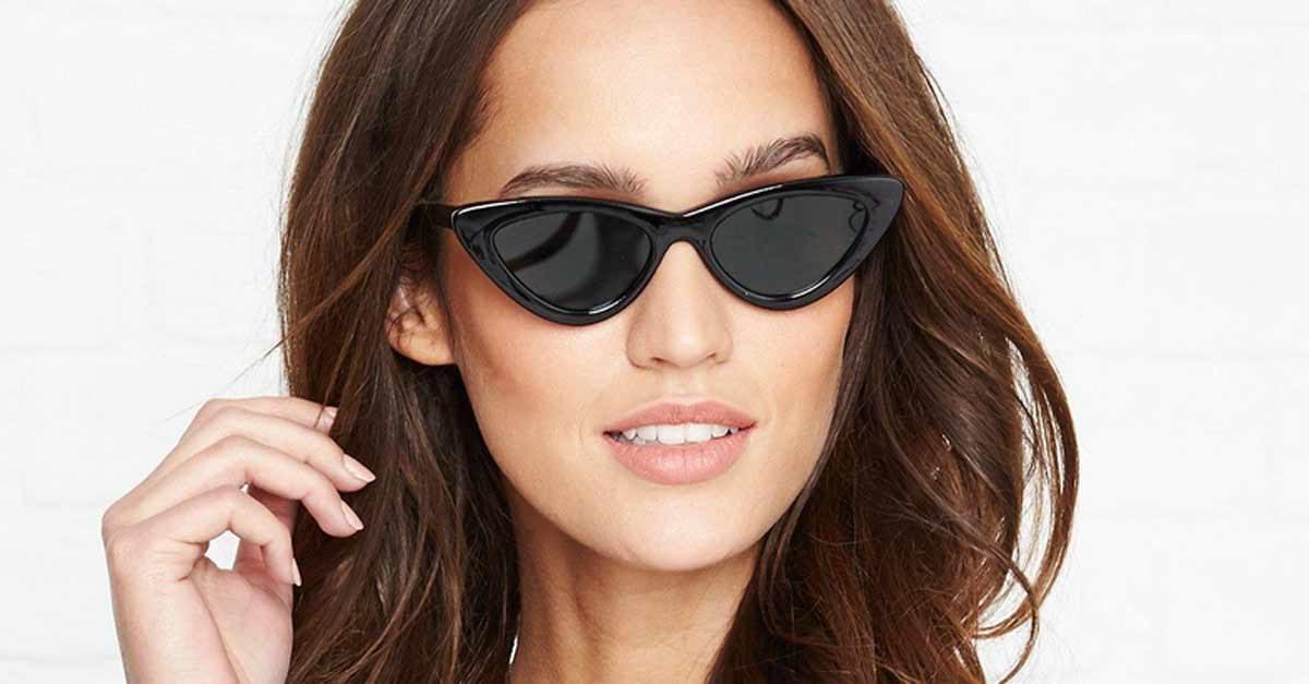 nuovo concetto f3b2d 96ade Gli occhiali da sole cat-eye, la tendenza dell'estate ...