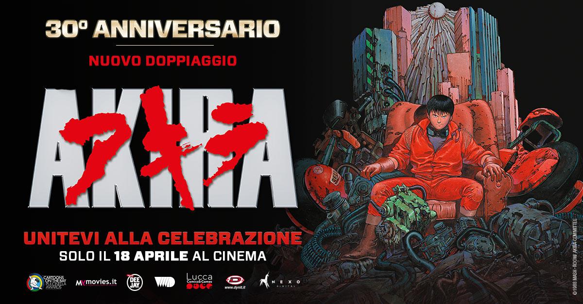 """A trent'anni dall'uscita, torna al cinema il 18 aprile, """"Akira"""" il capolavoro di Otomo! Guarda in anteprima la clip"""