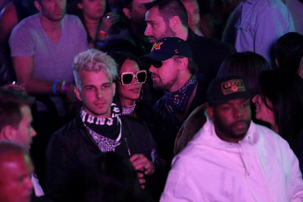 Coachella. Leonardo DiCaprio al party di Rihanna con la nuova fidanzata, Camila Morrone