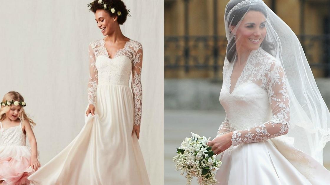 Ecco la collezione di abiti da sposa low cost di H&M (c'è anche quello di Kate Middelton)