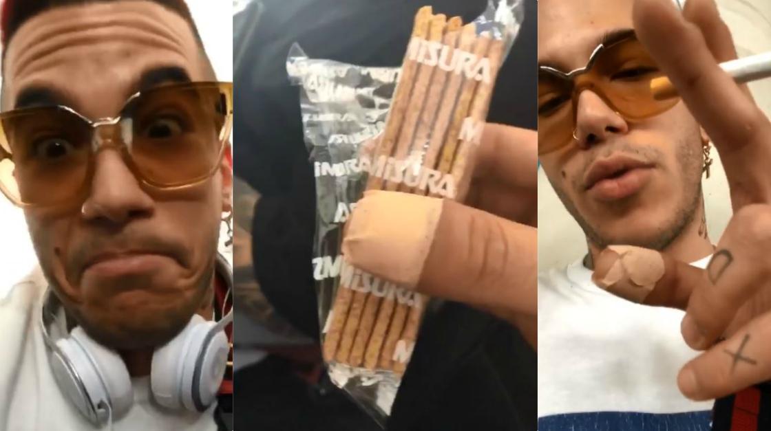 Sfera Ebbasta non bada a spese: 50€ per un pacchetto di crackers