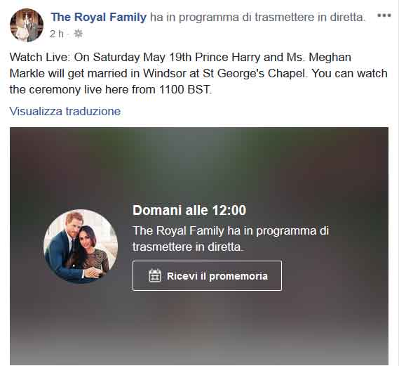 Matrimonio Harry In Streaming : Youtube s live stream of the recent royal wedding drew