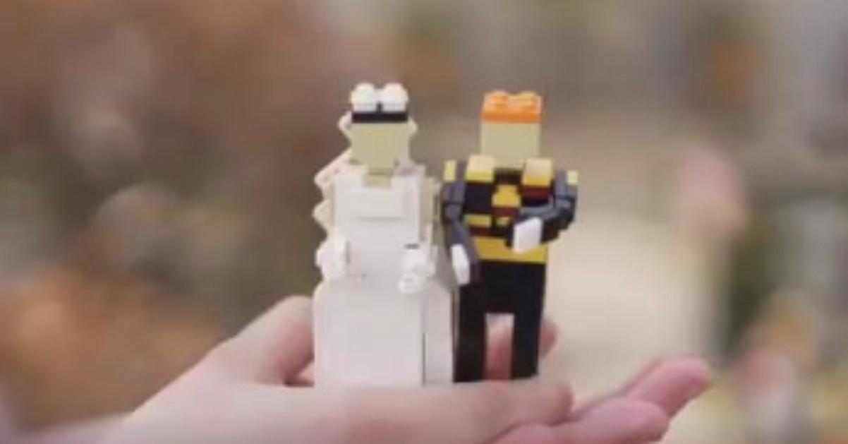 Matrimonio Tema Lego : Le nozze di harry e meghan in versione lego radio deejay