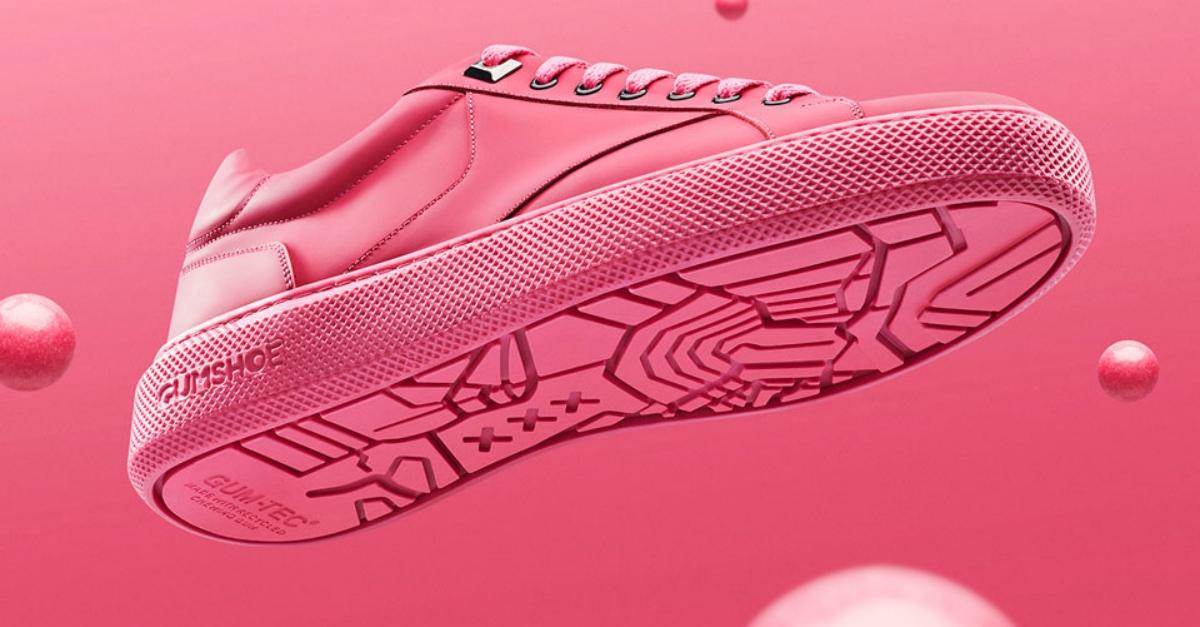 Gumshoe è la prima sneaker realizzata con i chewing gum recuperati dalle strade