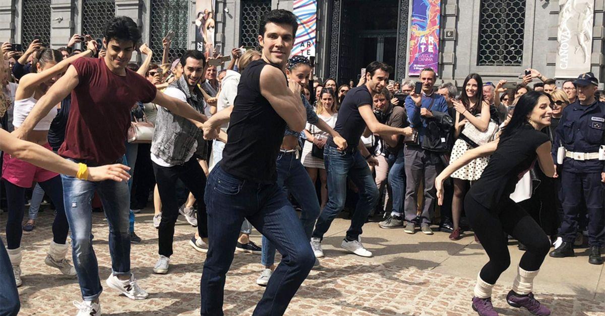 OnDance, i passi della coreografia per ballare con Roberto Bolle a Milano
