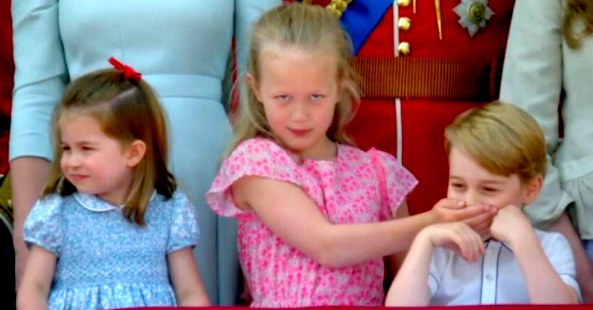 Chi è Savannah, la bimba di 7 anni che ha zittito George al compleanno della Regina