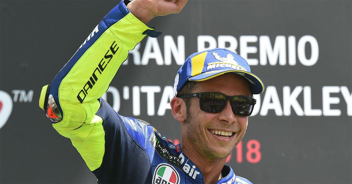 L'ultimo mese di MotoGP con Valentino Rossi: la festa di Misano, il figlio e l'addio