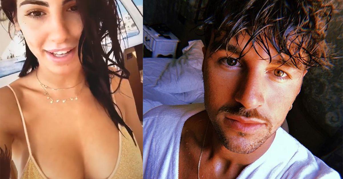 Giulia De Lellis, su Chi le foto in cui bacia Andrea Damante ed è in topless: lei risponde così