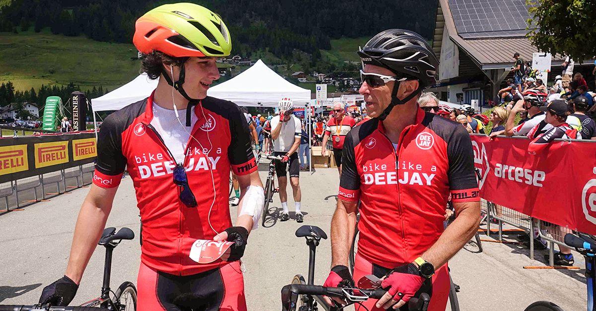 Linus e Filippo alla Maratona dles Dolomites 2018: le foto