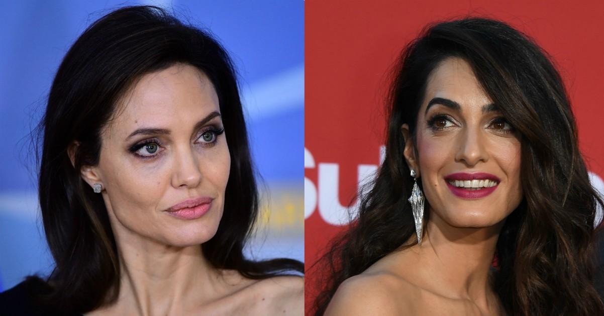Angelina Jolie non sopporta Amal Clooney: ecco perché
