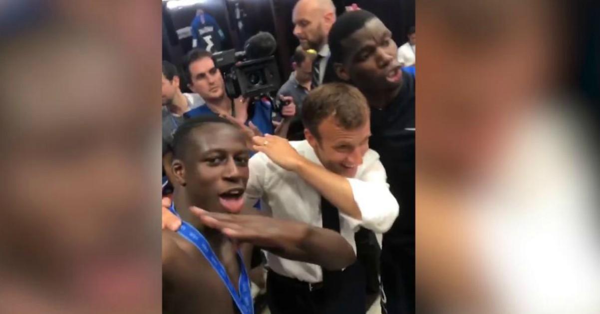 Francia campione del mondo, anche il presidente Macron festeggia con la dab dance