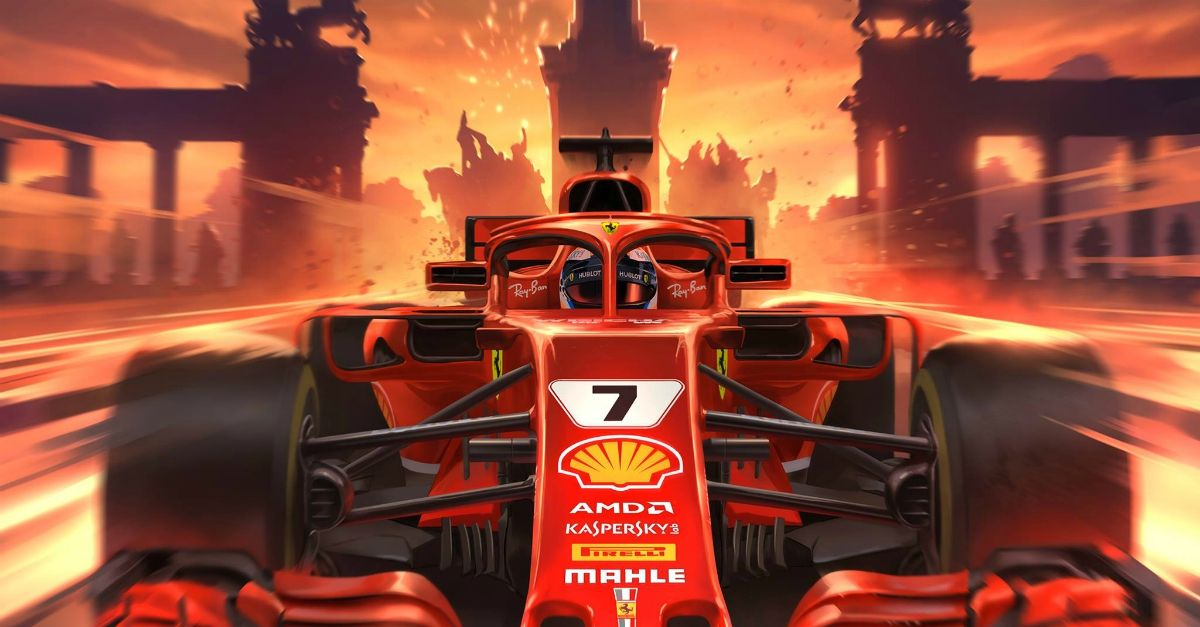 F1 gratis a Milano, Vettel e Raikkonen girano in Ferrari per le vie dei Navigli