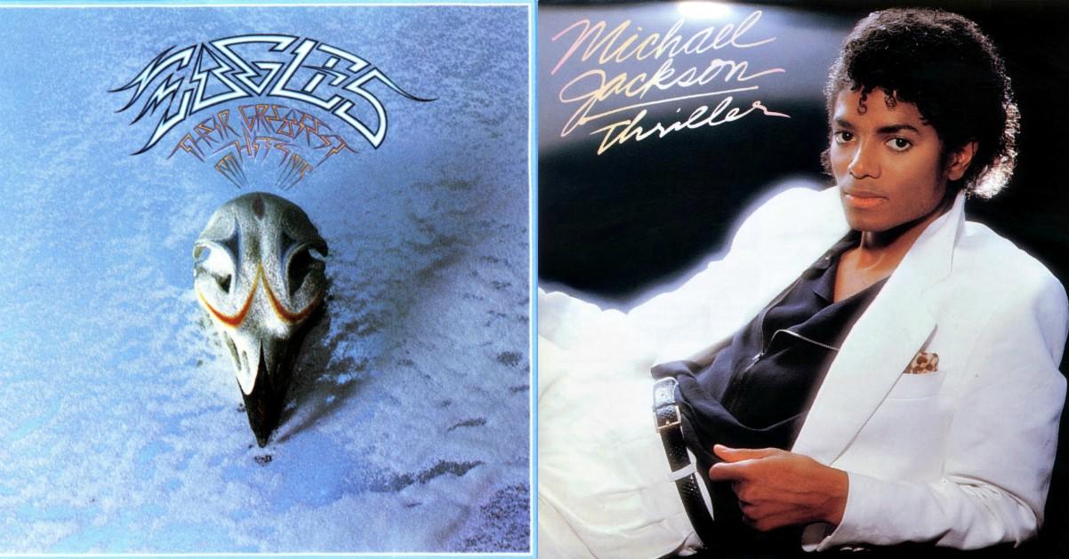 """Gli Eagles battono """"Thriller"""" di Michael Jackson: il loro Greatest Hits è l'album più venduto negli Usa"""