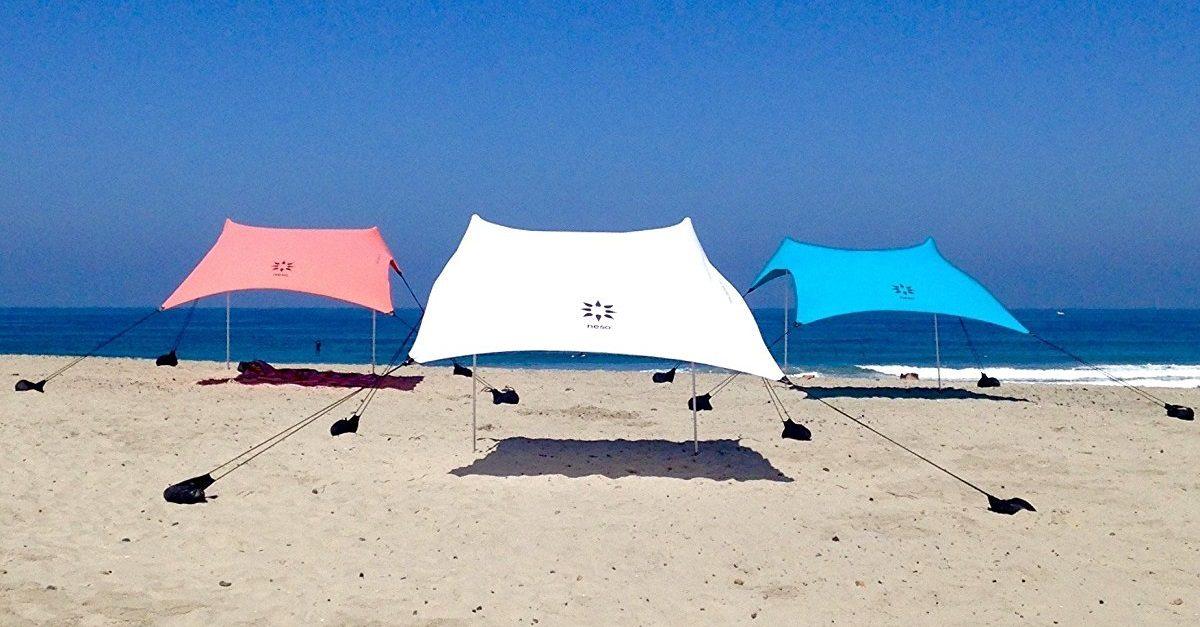 Ombrellone Da Spiaggia Pieghevole.Addio Ombrellone Ecco Le Migliori Tende Parasole Da Portare In
