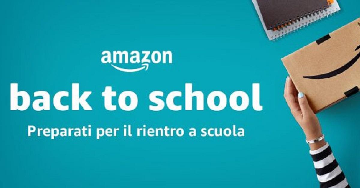 Back to school: libri scolastici e non solo, gli sconti e le offerte di Amazon per il ritorno a scuola
