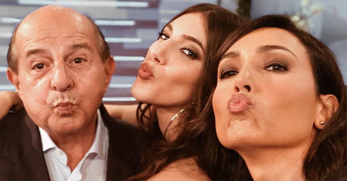 Giancarlo Magalli presenta Michela, la bella figlia influencer