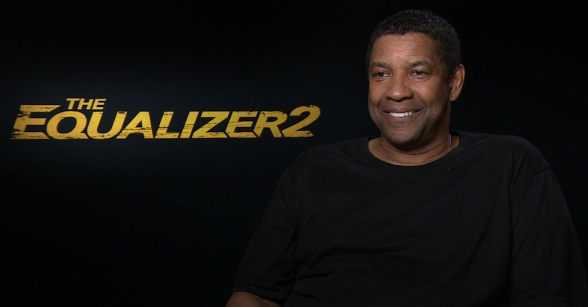 """Denzel Washington, The Equalizer 2: """"Tutto può essere un'arma, anche i libri"""""""