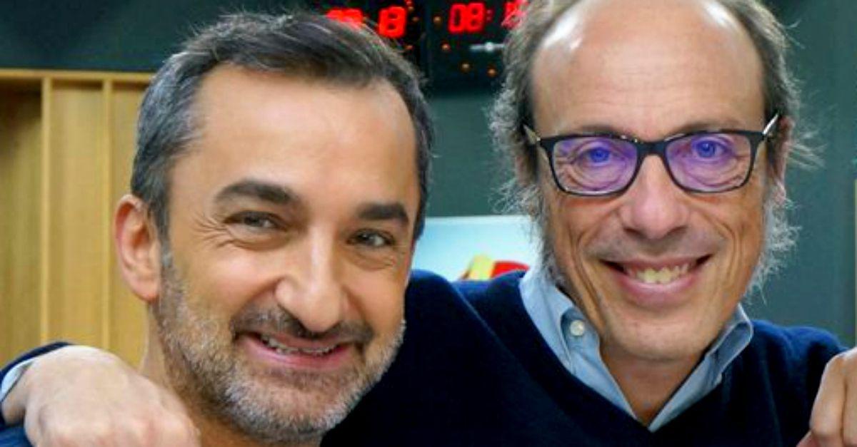 Nicola Savino e Radio DEEJAY entrano nella MotoGP: il saluto in diretta di Guido Meda