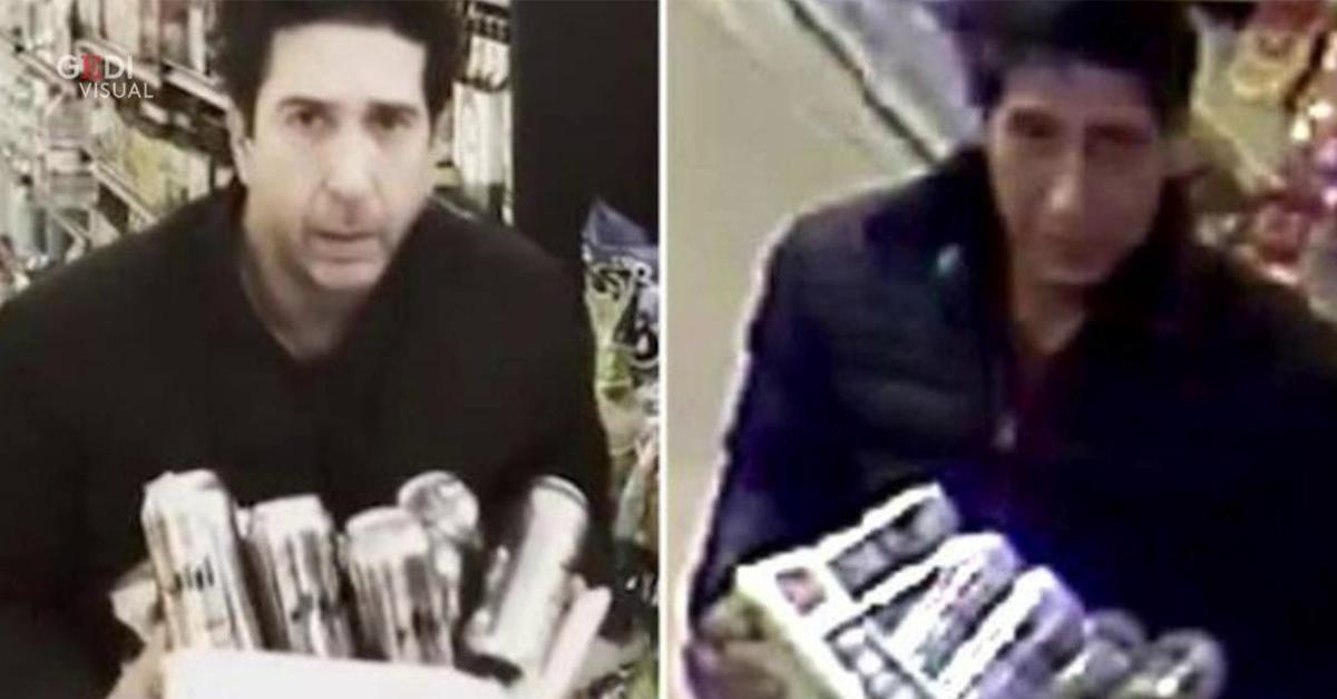 L'uomo ricercato dalla polizia è il sosia di Ross di Friends: l'attore David Schwimmer risponde così