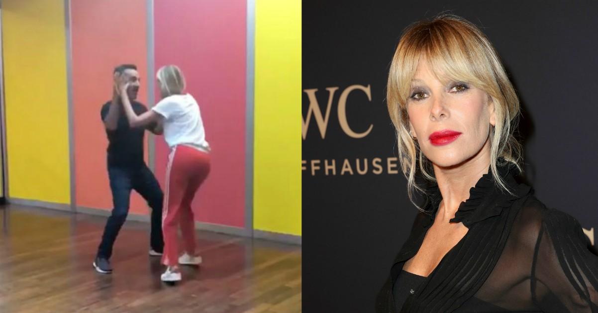 Nicola Savino e Alessia Marcuzzi, prove di ballo per i conduttori de Le Iene