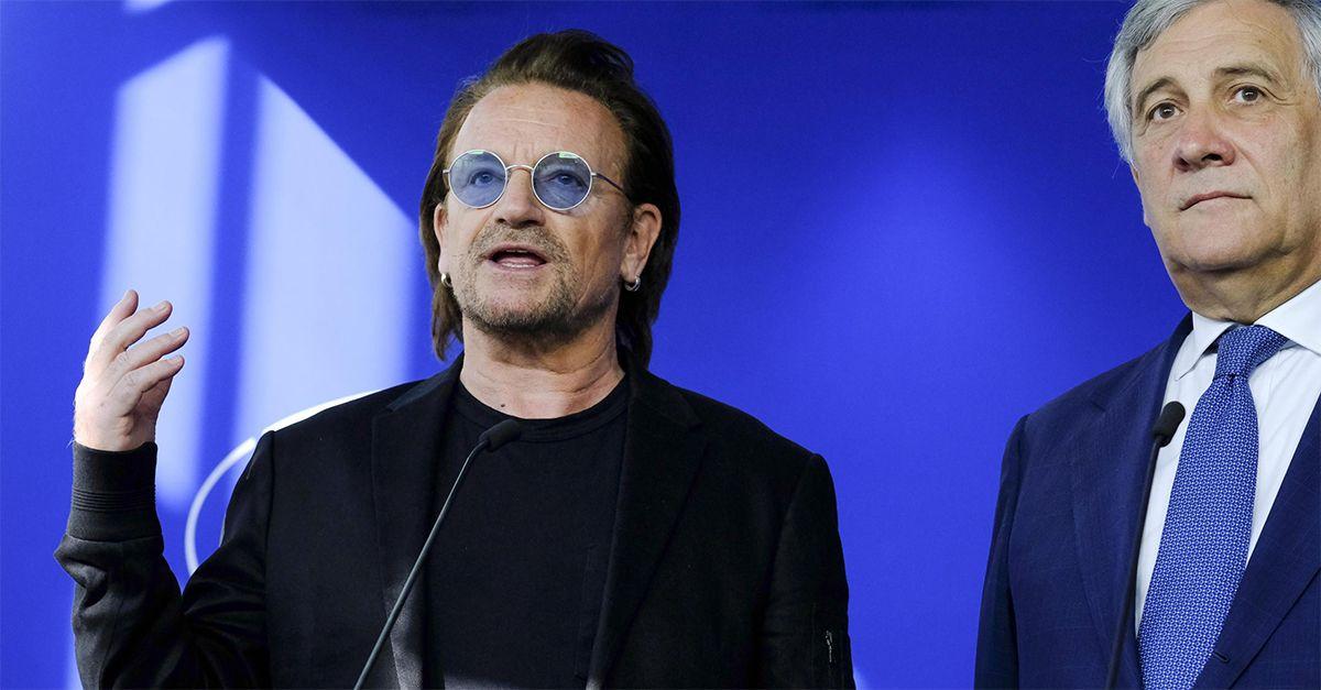 """Bono Vox al Parlamento europeo: """"Migrazioni dall'Africa sono un'incredibile opportunità"""""""