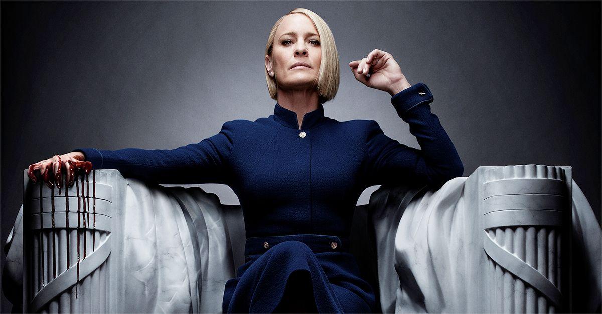 """House of Cards 6, Frank Underwood è morto. Claire: """"Ora è il mio turno"""". Dal 2 novembre su Sky Atlantic"""