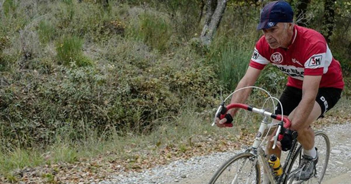 Linus all'Eroica, la corsa in bici d'epoca sulle colline del Chianti