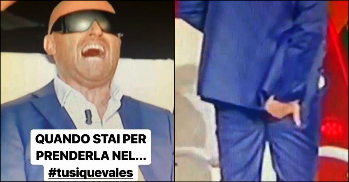 """Il cattivo scherzo a Rudy Zerbi nell'ultima puntata di """"Tu sì que vales"""""""