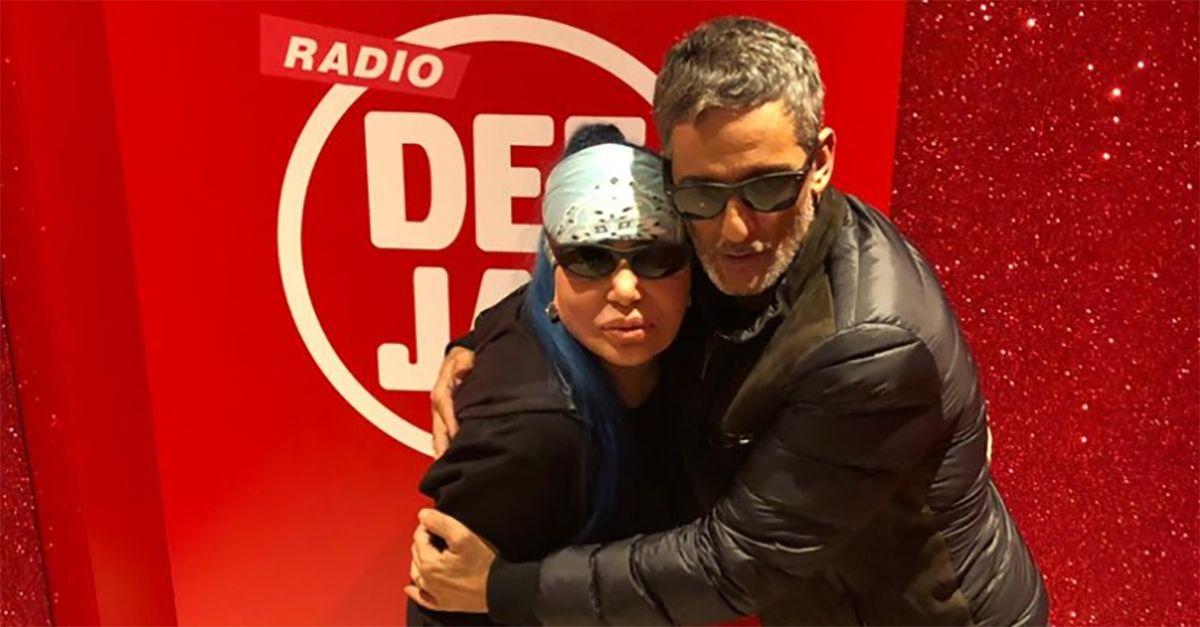 """Salto nel passato, Loredana Bertè canta """"Dedicato"""" in diretta con Fiorello"""