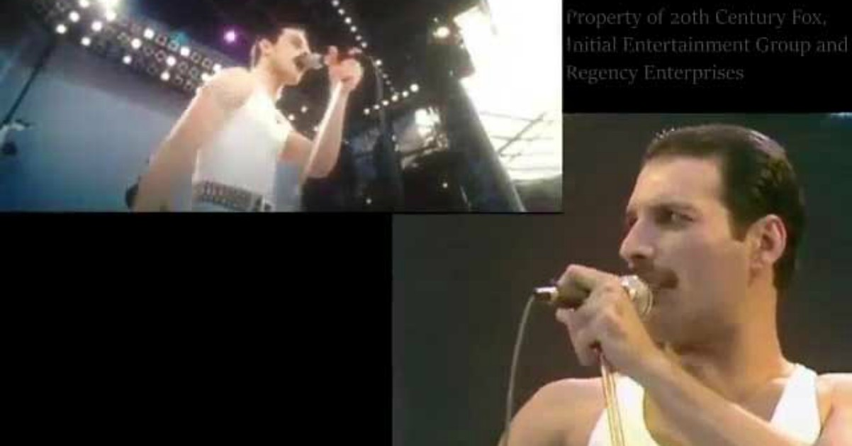 Bohemian Rhapsody: il video confronto tra Freddie Mercury e Rami Malek