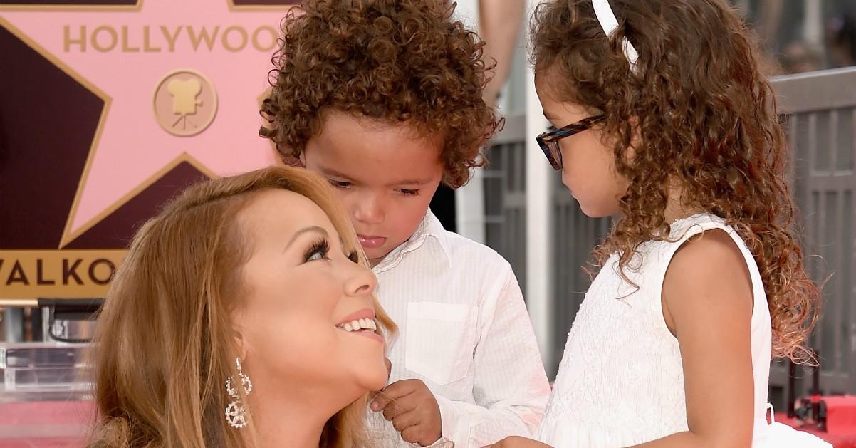 Mariah Carey fa cantare la sua canzone di Natale ai figli Moroccan e Monroe