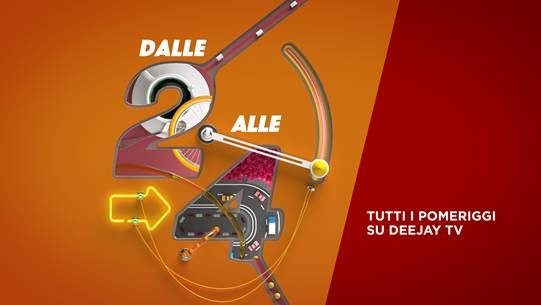 Dalle 2 alle 4 con Gianluca Gazzoli dal 7 Gennaio su Deejay Tv
