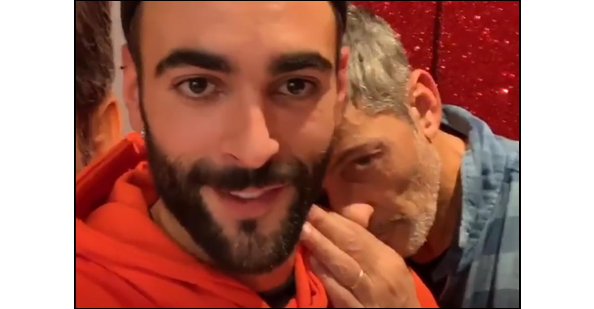 """Marco Mengoni canta la sigla di """"Ken il Guerriero"""" con Fiorello"""