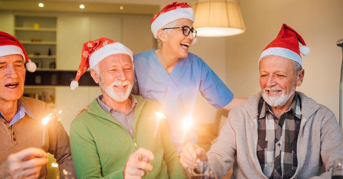Un regalo per i nonni che sono rimasti soli a Natale: l'iniziativa bellissima