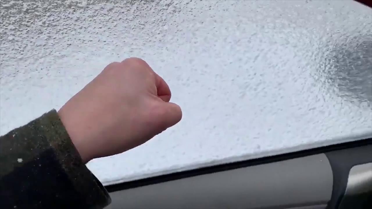 """USA, il freddo estremo crea un altro """"finestrino di ghiaccio"""""""