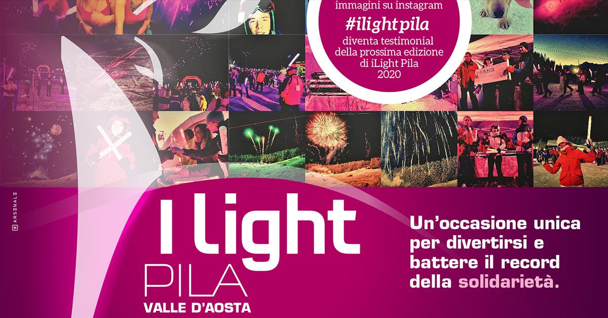 """Sabato 2 febbraio torna la fiaccolata in rosa aperta a tutti """"I Light Pila"""": tra divertimento e solidarietà"""