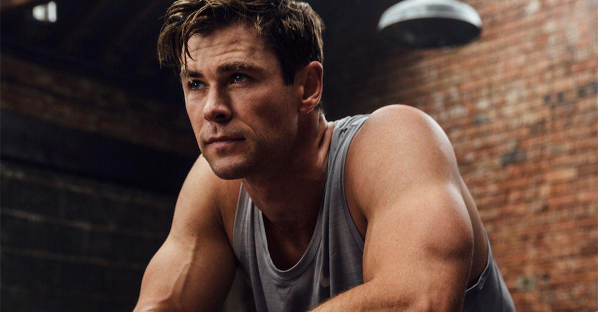 Chris Hemsworth regala 6 settimane di abbonamento della sua app di fitness