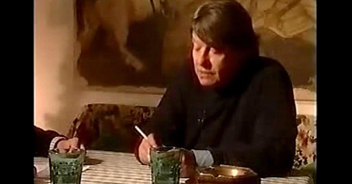 Fabrizio De Andrè, l'intervista inedita registrata in Sardegna nel 1997
