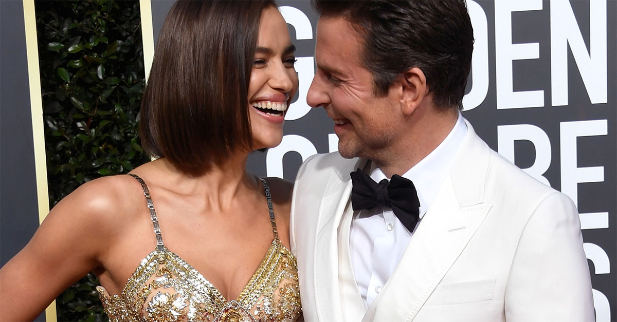 Golden Globe. Bradley Cooper e Irina Shayk, innamorati sul red carpet