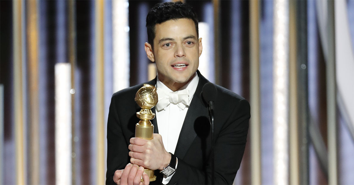 "Golden Globe, vince Bohemian Rhapsody. Rami Malek: ""Questo è per te, Freddie Mercury. Ti amo"""